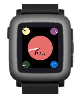 Glance for Pebble poster