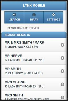 Lynx Mobile apk screenshot