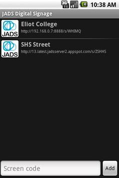 JADS Screen Reader poster