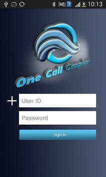 OneCallCaspian apk screenshot