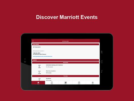 Marriott Events apk screenshot