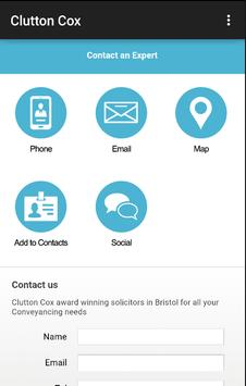 Clutton Cox Conveyancing apk screenshot