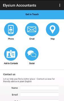 Elysium Forensic Accountants apk screenshot
