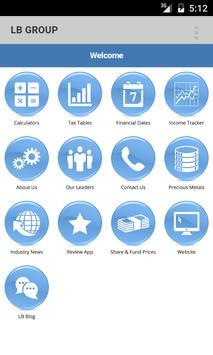LB GROUP CHARTERED ACCOUNTANTS apk screenshot