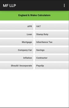Melinek Fine LLP Accountants apk screenshot