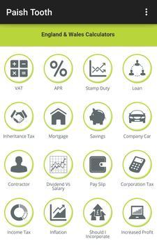 Paish Tooth Tax & Accounting apk screenshot