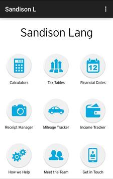 Sandison Lang Accountants poster