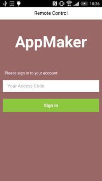 AppMaker Remote Control poster