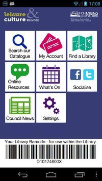 Dundee Libraries apk screenshot