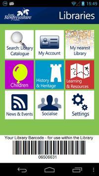 East Renfrewshire Libraries poster
