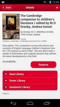 Kent Libraries apk screenshot