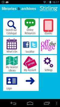 Stirling Libraries poster