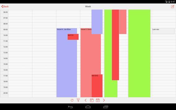 Staff & Employee Scheduling apk screenshot