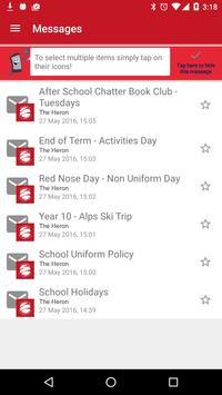 Heron Secondary School apk screenshot
