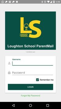 Loughton School ParentMail poster