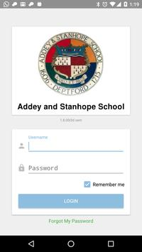 Addey and Stanhope School poster