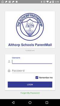 Althorp Schools ParentMail poster