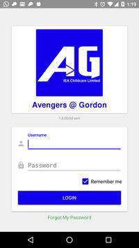 Avengers @ Gordon poster
