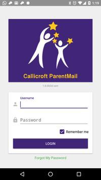 Callicroft ParentMail poster