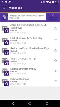 Callicroft ParentMail apk screenshot