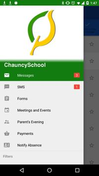 Chauncy School ParentMail apk screenshot