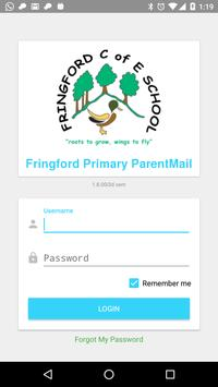 Fringford Primary ParentMail poster