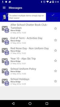 Marus Bridge School Payments apk screenshot