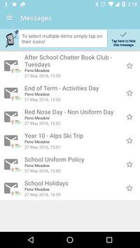 Pens Meadow School apk screenshot