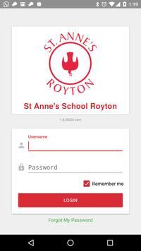 St Anne's School Royton poster