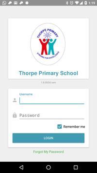 Thorpe Primary School poster