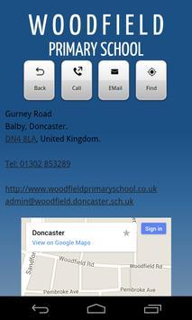 Woodfield Primary School apk screenshot