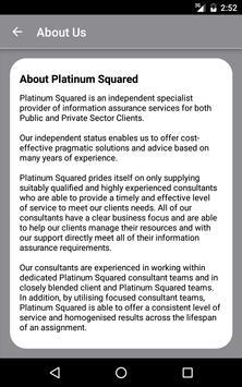 Platinum Squared HMG IA Guide apk screenshot