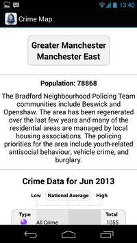 Crime Map England & Wales apk screenshot