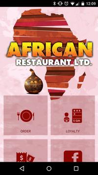 The African Restaurant poster