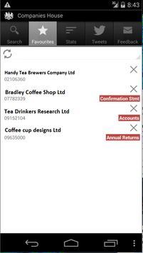 Companies House apk screenshot