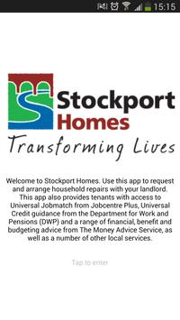 Stockport Homes poster