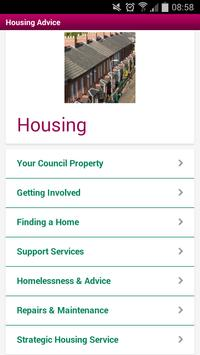 Mansfield District Council poster