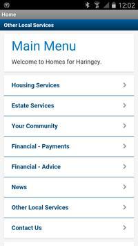 My Haringey Home apk screenshot