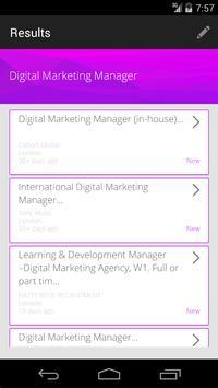 JobZapp Digital Job Search apk screenshot