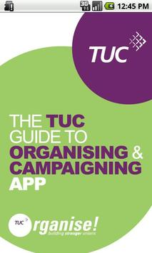 TUC Organising & Campaigning poster