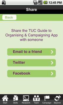 TUC Organising & Campaigning apk screenshot