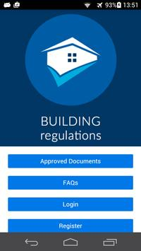 The Building Regulations UK poster