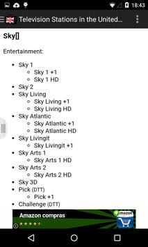 United Kingdom TV Channels apk screenshot