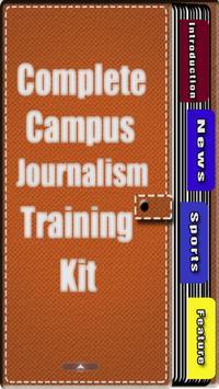Campus Journalism Training Kit poster