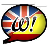 Word up! English-Spanish icon