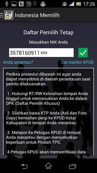 Indonesia Memilih 2014 apk screenshot