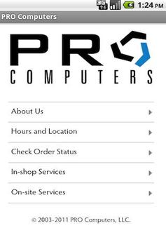 PRO Computers poster