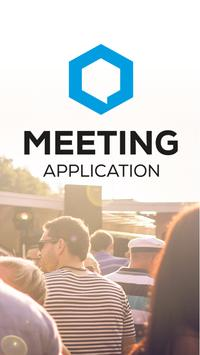 Meeting Application poster