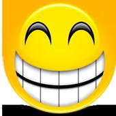 Funny short jokes icon