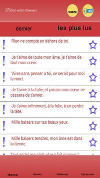 Petits mots d'amour apk screenshot